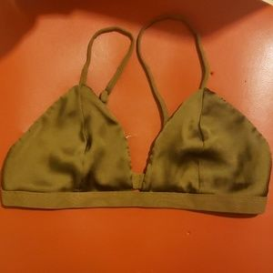 Me to We Essentials Olive Bralette Size S